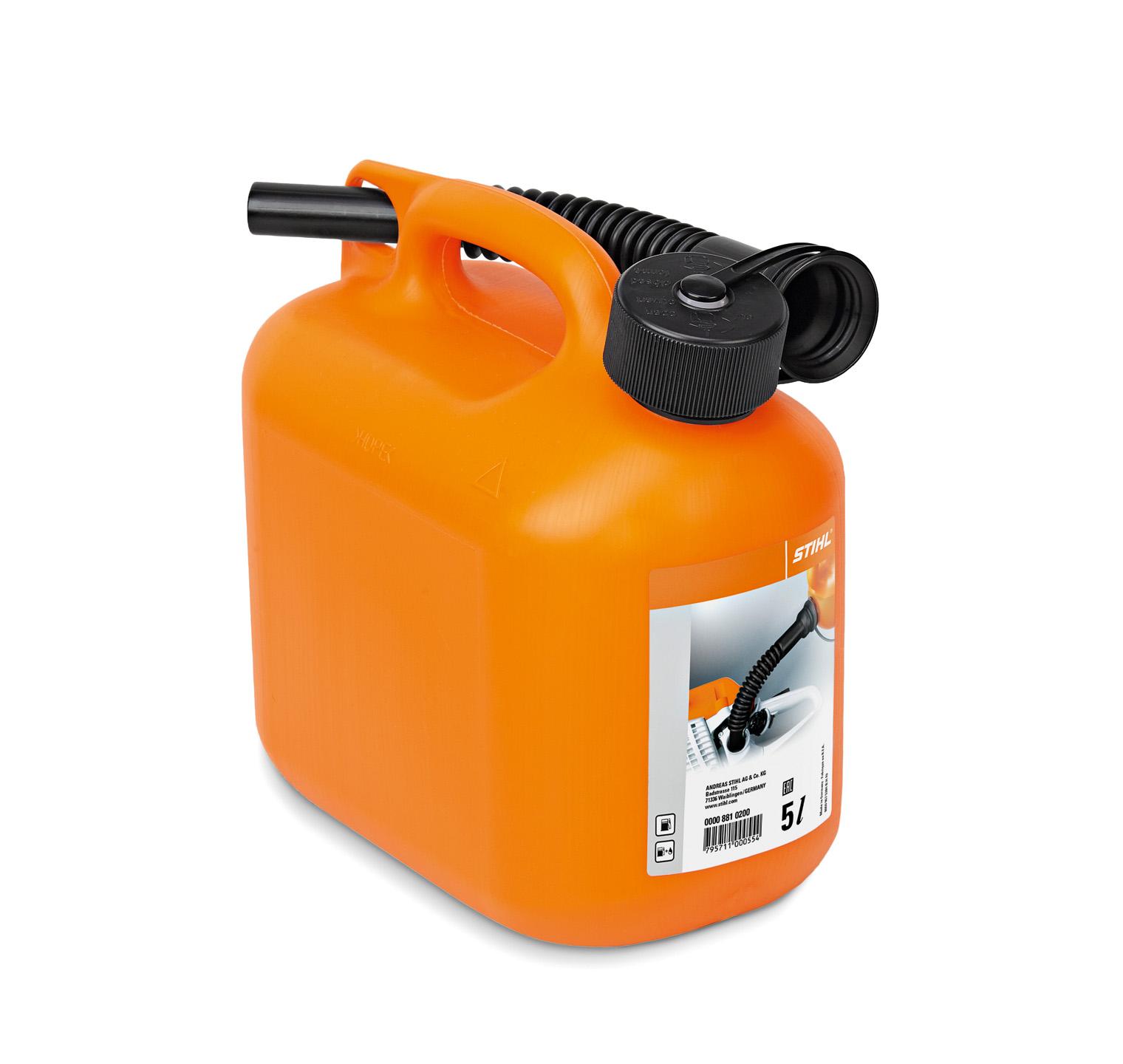 Bidón de combustible
